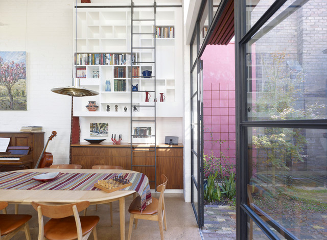 Petersham House contemporary-dining-room