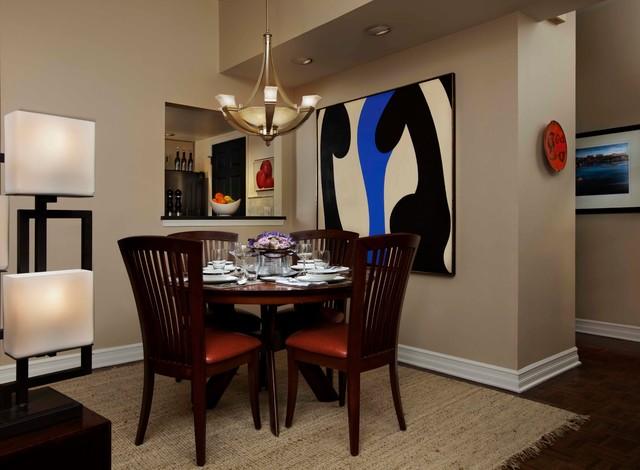 Philadelphia Townhouse contemporary-dining-room