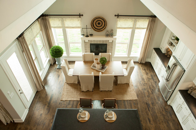 Phillips Creek Ranch Shaddock Homes Traditional Dining Room