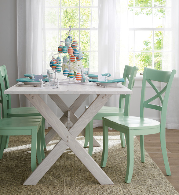 Picnic Table Dining Room Sets: Contemporary