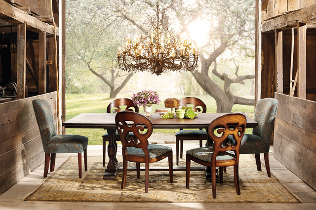 Pietro Collection Eclectic Dining Room By Arhaus