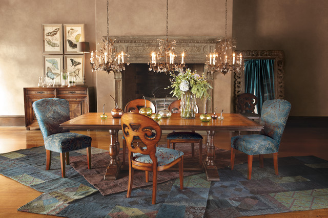 pietro dining table eclectic dining room other metro by arhaus. Black Bedroom Furniture Sets. Home Design Ideas