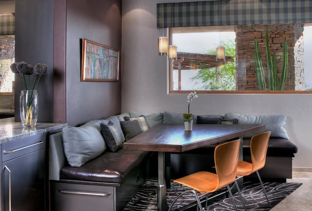 Pima Canyon Desert Modern Contemporary Dining Room
