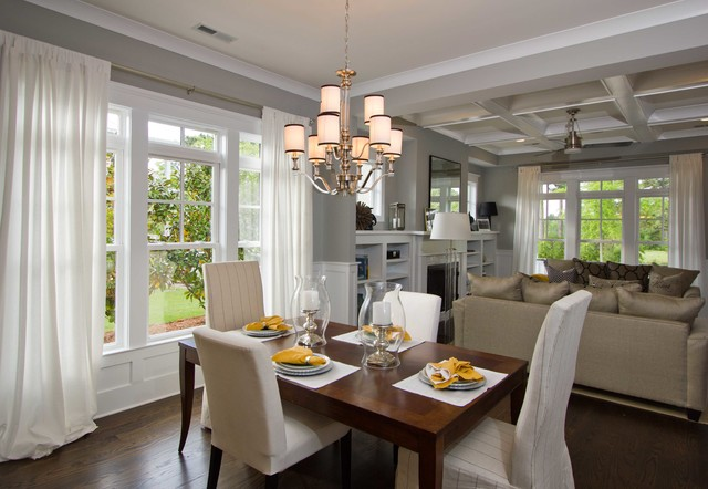 piper model home, autumn hall traditional-dining-room
