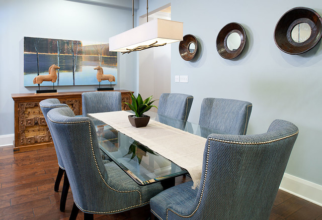 pittsburgh penthouse eclectic dining room other by