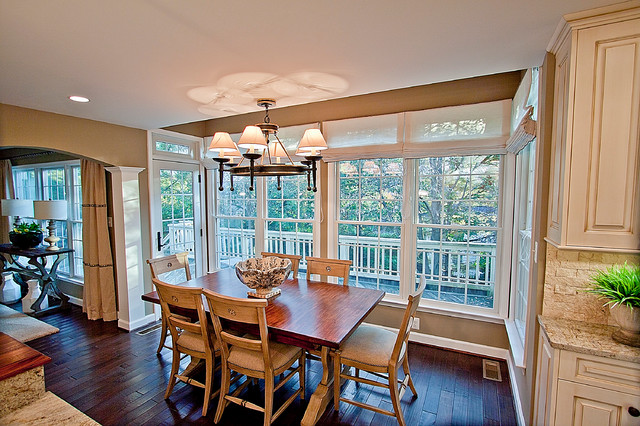 Pizzazz In Potomac Traditional Dining Room Other Metro By
