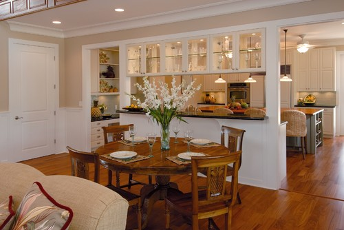 Design dilemma open kitchens we love home design find for Kitchen with dining room designs