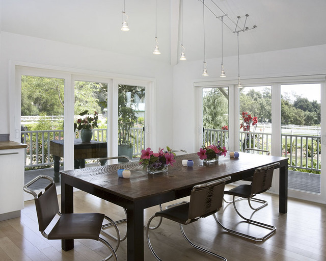 Plantation Style Dining Room contemporary-dining-room
