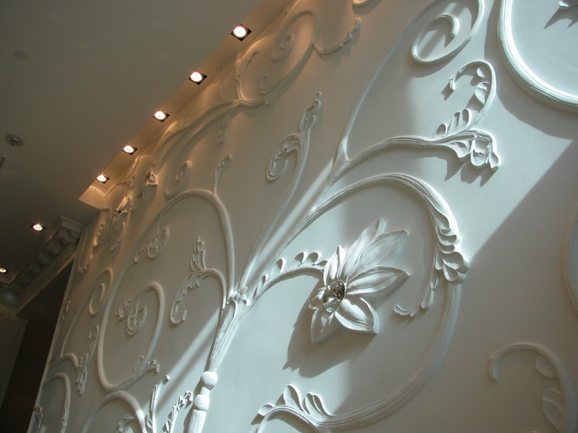 Plaster Moulding contemporary-dining-room