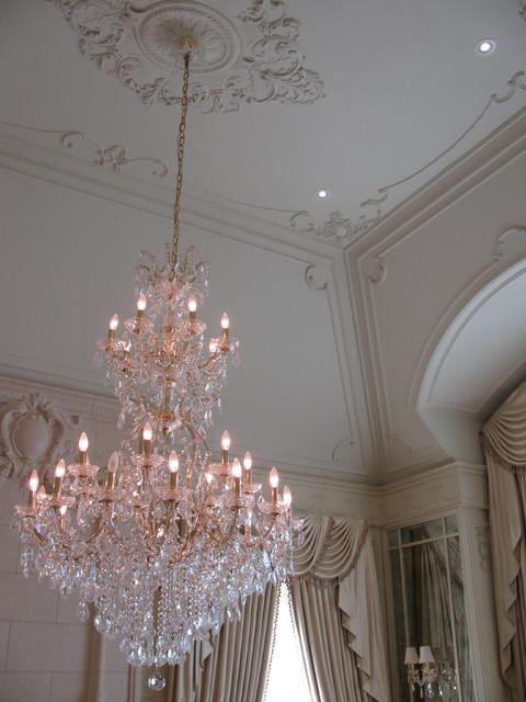 Plaster Moulding dining-room