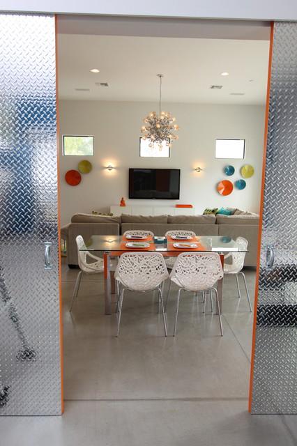 Contemporary Dining Room by Chimera Interior Design