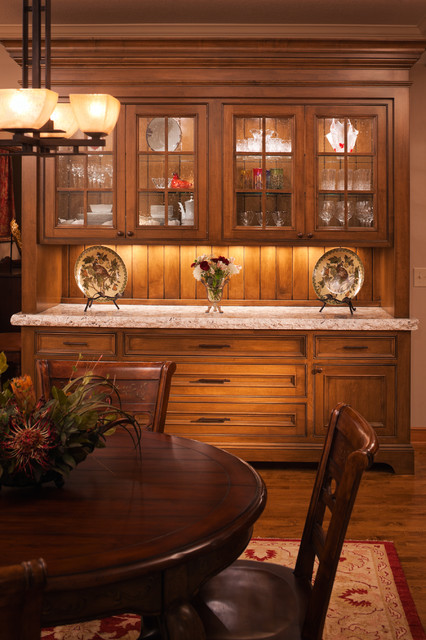 Plymouth kitchen renovation traditional dining room for Dining room cupboard designs
