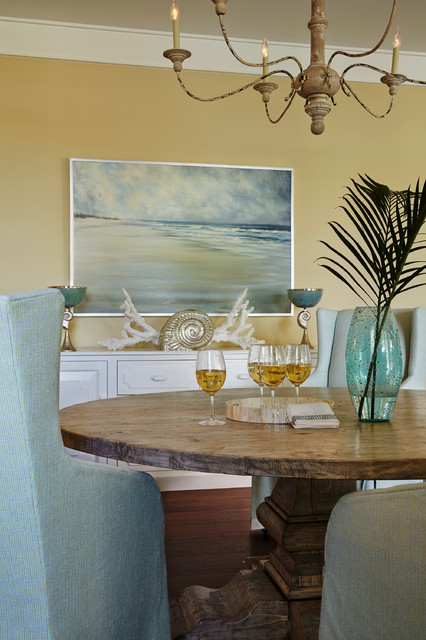 retreat beach style dining room other by jma interior design