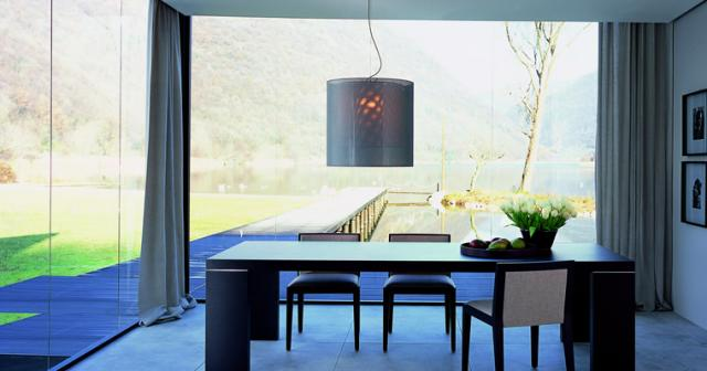 modern dining room by Poliform USA