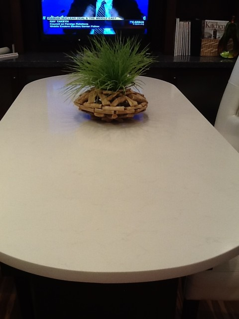 Pompeii Quartz Vanilla Ice - Kitchen Countertops - other ...