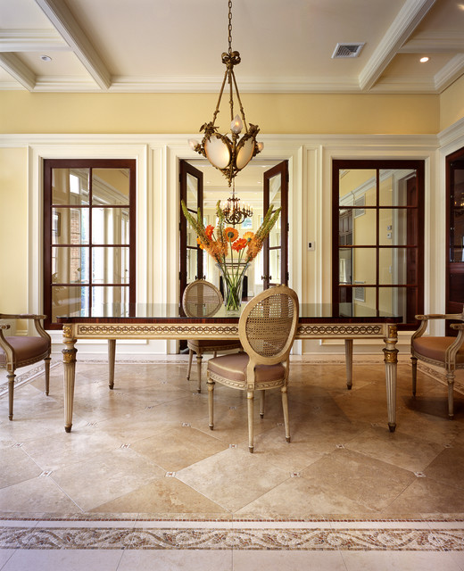 Pond Road traditional-dining-room