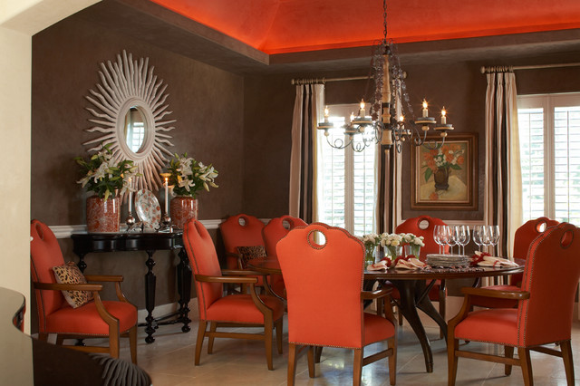 Ponte vedra beach residence tropical dining room for Interior decorators ponte vedra beach