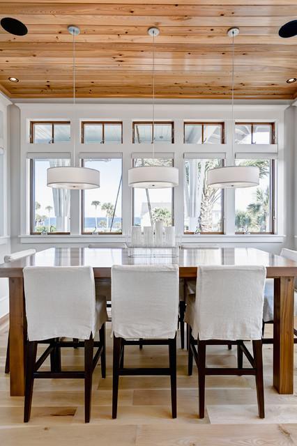 Ponte vedra residence beach style dining room for Interior decorators ponte vedra beach