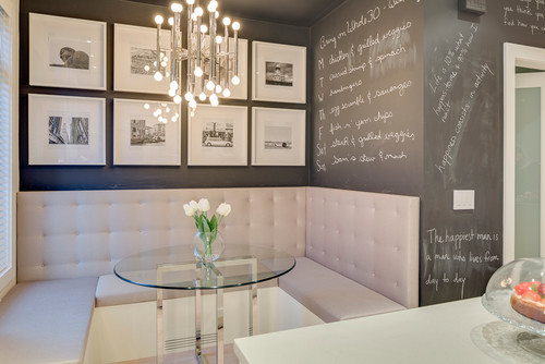 Chalkboard In Dining Areas