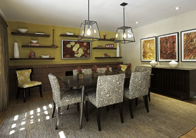 Porter Ranch Home - contemporary - dining room - los angeles - by