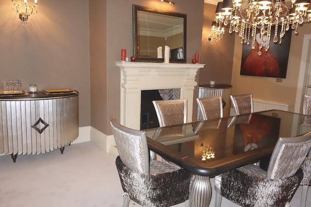 Portfolio eclectic dining room other by david long for Eclectic dining room ideas