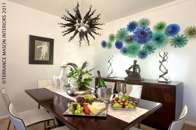 contemporary dining room by Terrance Mason Interiors