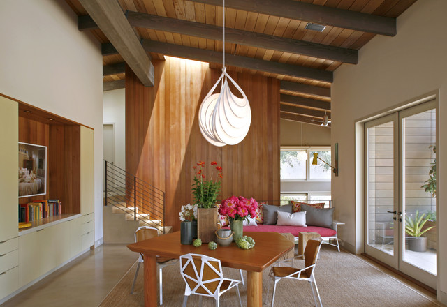 contemporary dining room by Charles DeLisle
