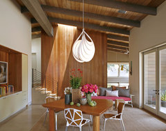 Portola Valley contemporary dining room
