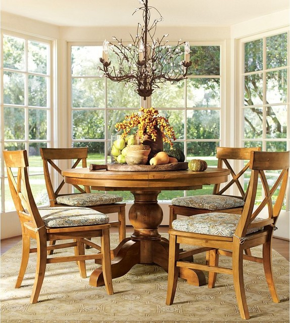 pottery barn traditional dining room