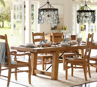 Pottery Barn Rustic Dining Room Sacramento By