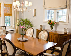 Need to decide how much taupe and cream paint to change dining ...