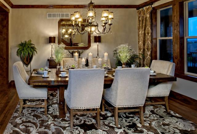 Pradera - European Hillside Collection mediterranean-dining-room