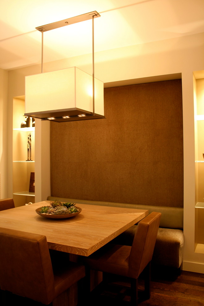 Dining room - modern dining room idea in Other