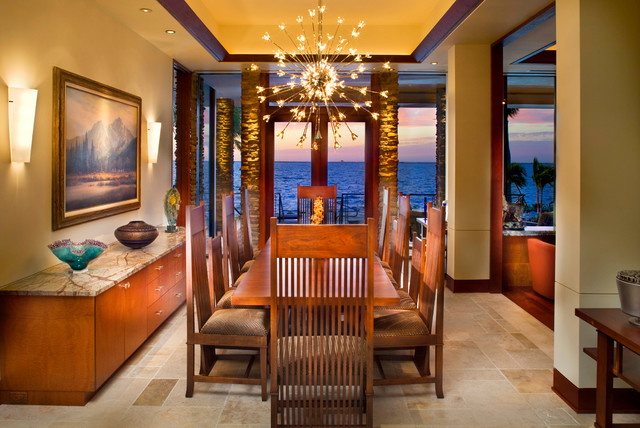 Prairie Style Home Contemporary Dining Room Tampa By Fleischmangarcia Architecture