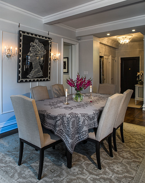 Pre-War Classic traditional-dining-room