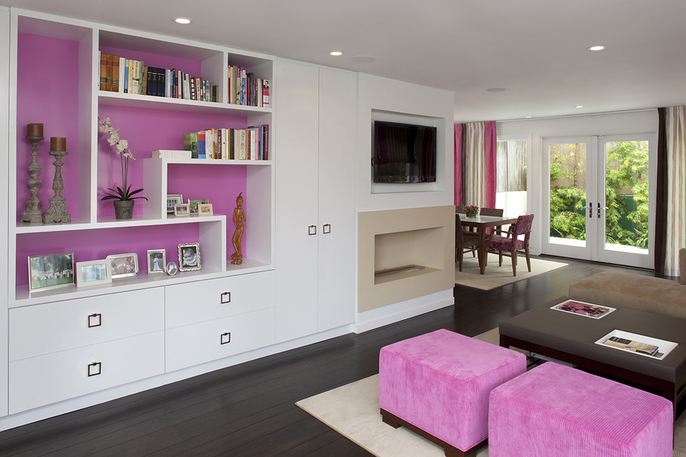 Example of a trendy dining room design in San Francisco