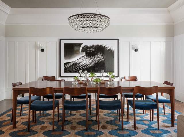 Presidio Heights Residence transitional-dining-room