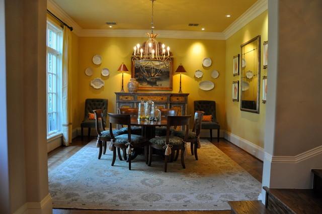 Preston hollow residence for Dining room jockey hollow