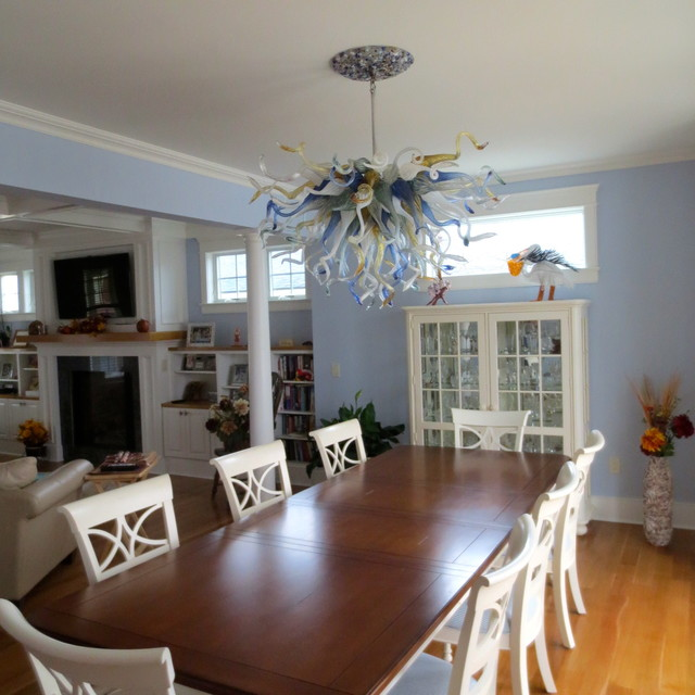 Primo Bella Chandelier Installation : Mantaloking NJ