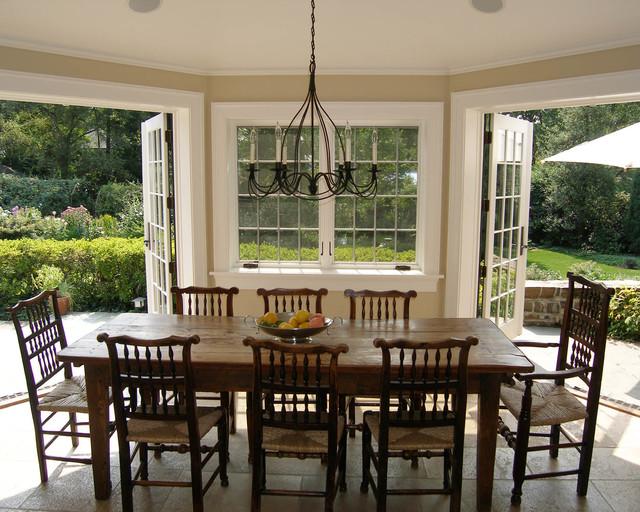 princeton interior traditional dining room