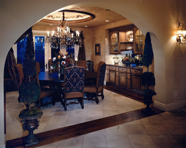Private custom home las vegas traditional dining room las vegas by diane cabral interiors - Private dining rooms las vegas ...