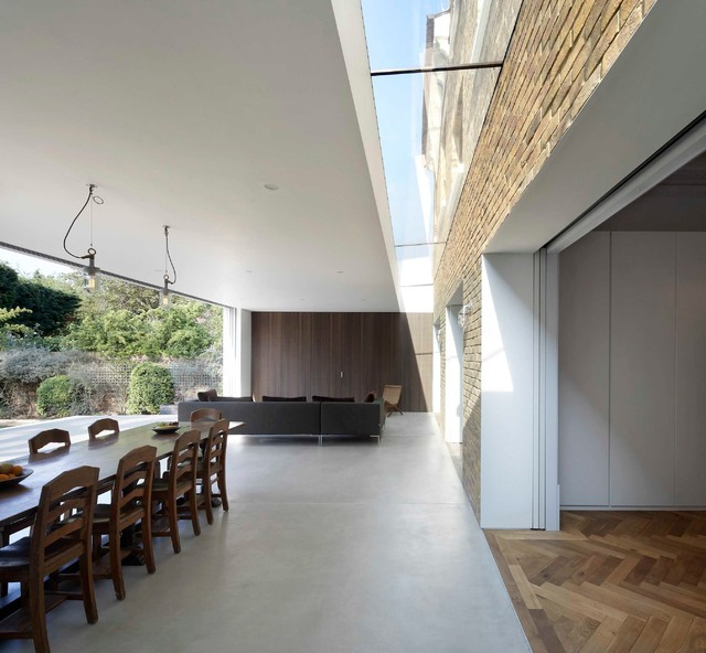 Private Home In Chiswick London Modern Dining Room