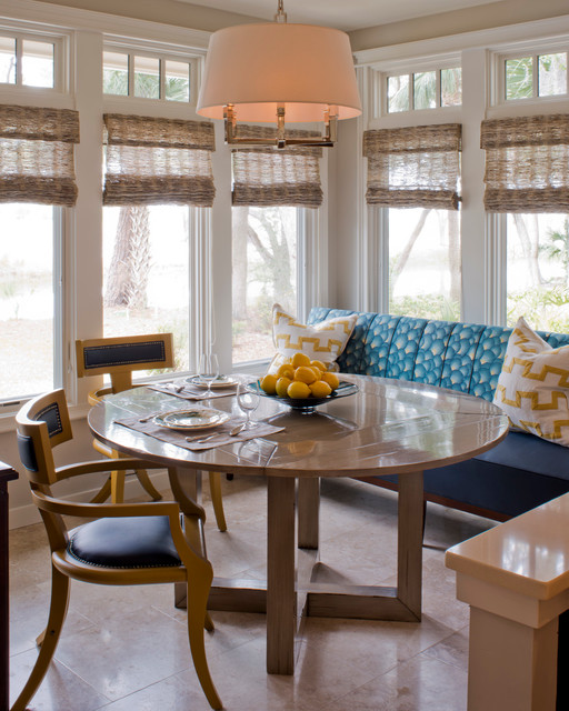 Private Home Sea Pines Plantation Transitional Dining Room