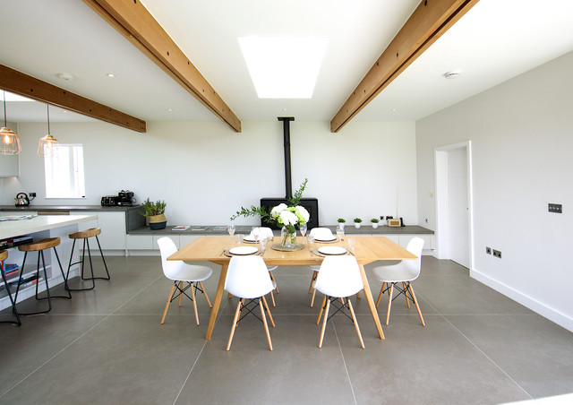 Private House Jersey Contemporary Dining Room