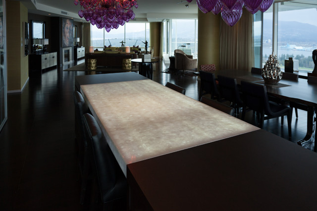 Private residence 2 contemporary dining room for Best private dining rooms vancouver