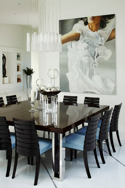 Private Residence 6 Boca Raton FL Contemporary Dining Room
