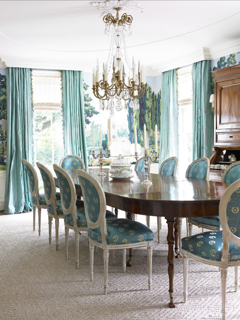 Private Residence - Atlanta traditional-dining-room