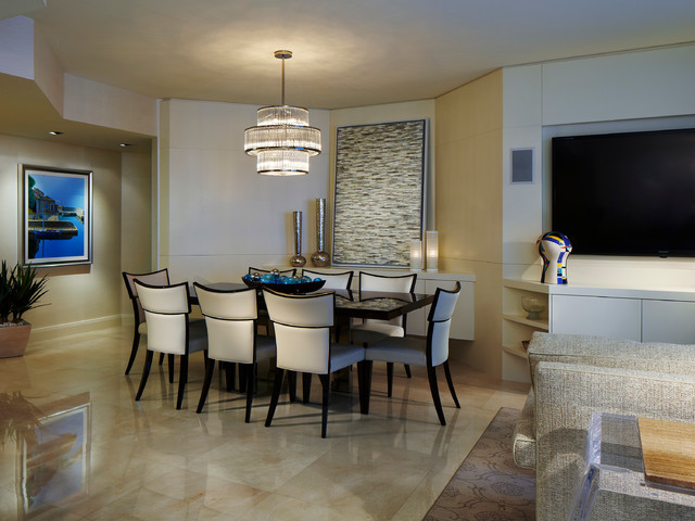 Private residence aventura fl dining room miami by for Best private dining rooms miami