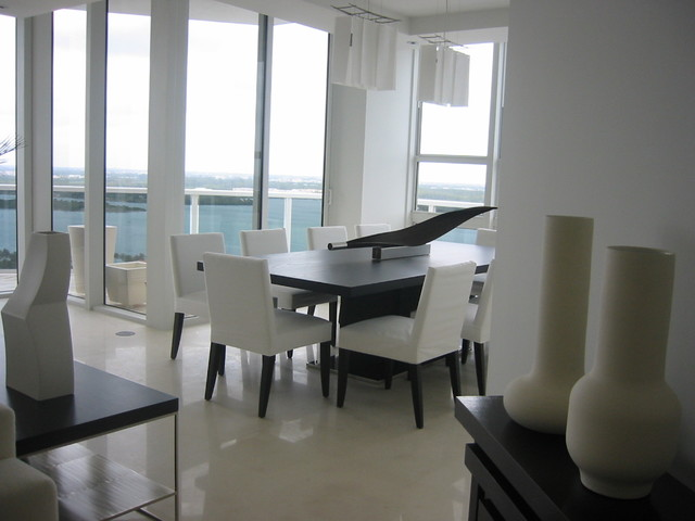 Private residence bal harbour for Best private dining rooms miami