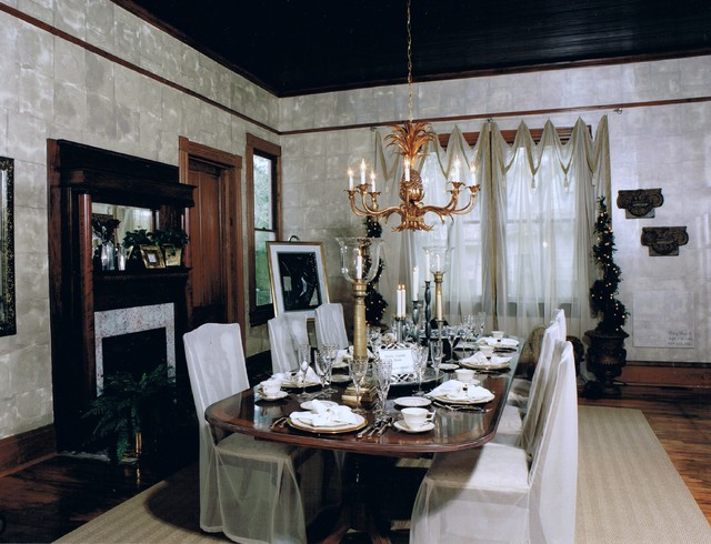 Private Residence Traditional Dining Room